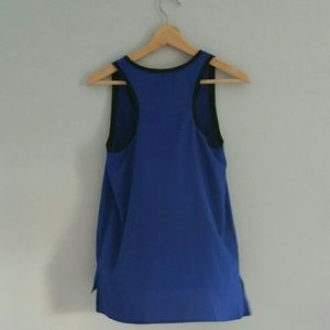 Decree Tops - Decree Tank Top Blue NWT size M